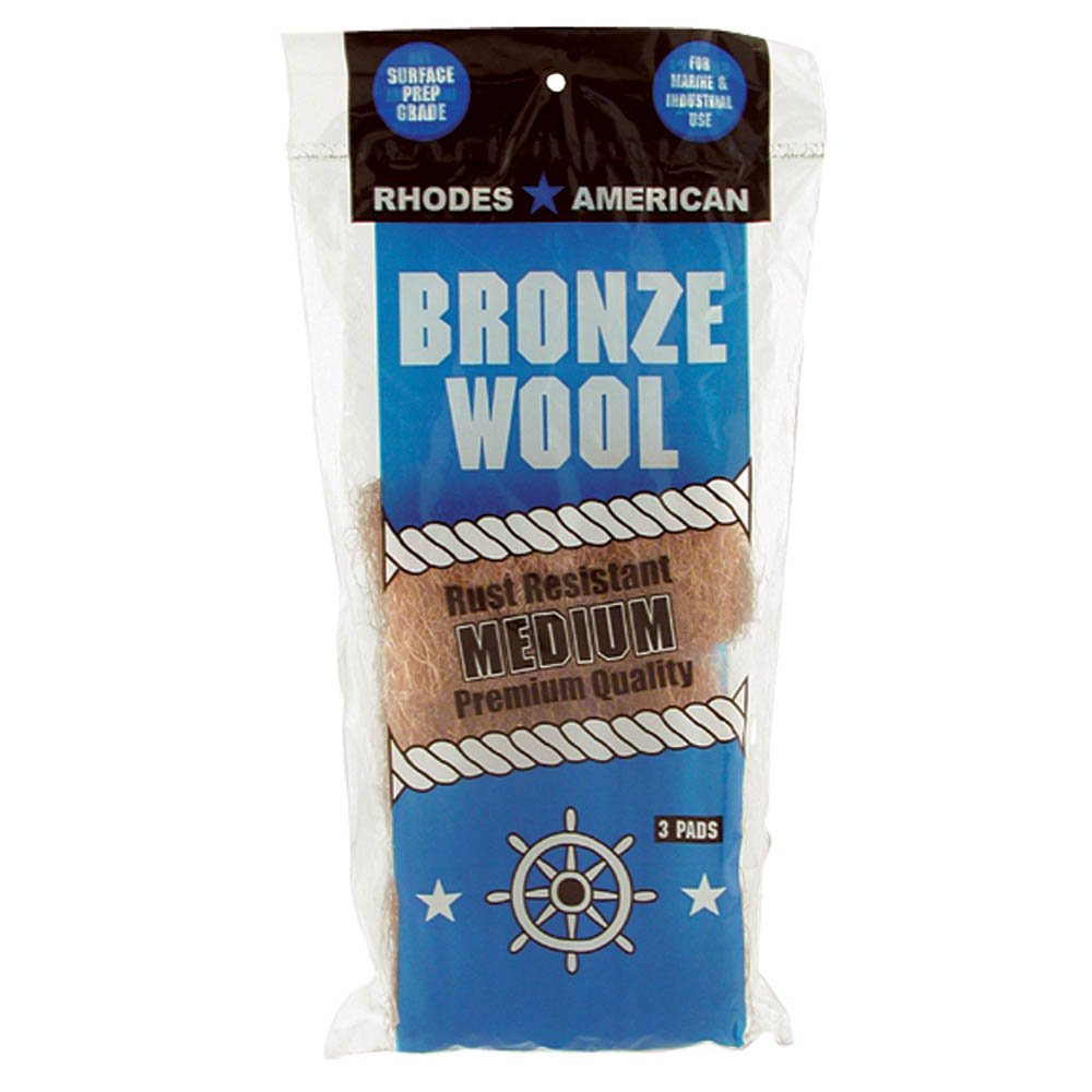 Homax Bronze Steel Wool Pad Medium by Homax Corporation