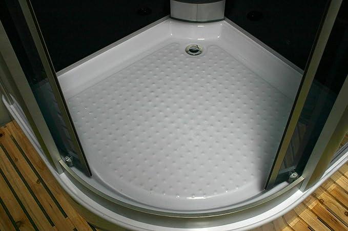 Ducha hidromasaje 90 x 90 x 225 cm esquina jacuzzi masaje ducha ...