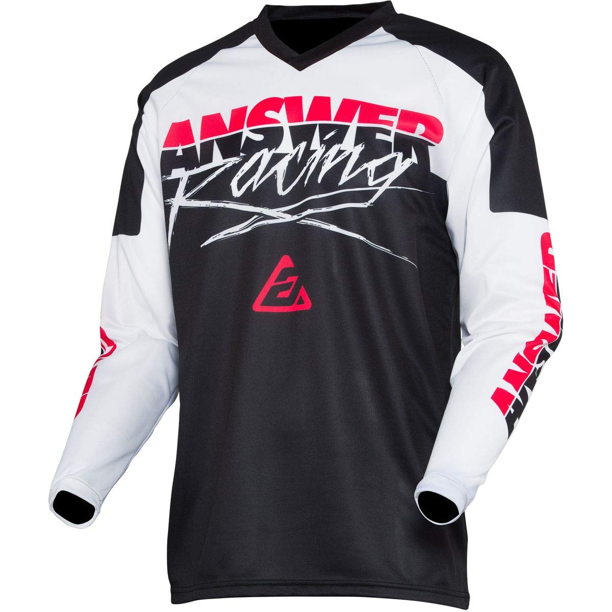 RED//Black//Hyper Acid Pro Glo Small Answer 2020 Youth Syncron Jersey
