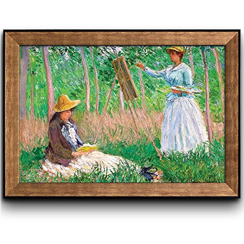 In the Woods at Giverny by Claude Monet Framed Art