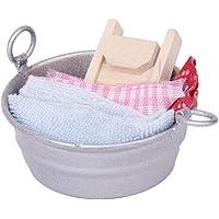SODIAL(R) Tina de lavar miniatura de casa