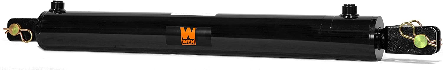 Black WEN CC2016 Clevis Hydraulic Cylinder with 2 Bore and 16-inch Stroke