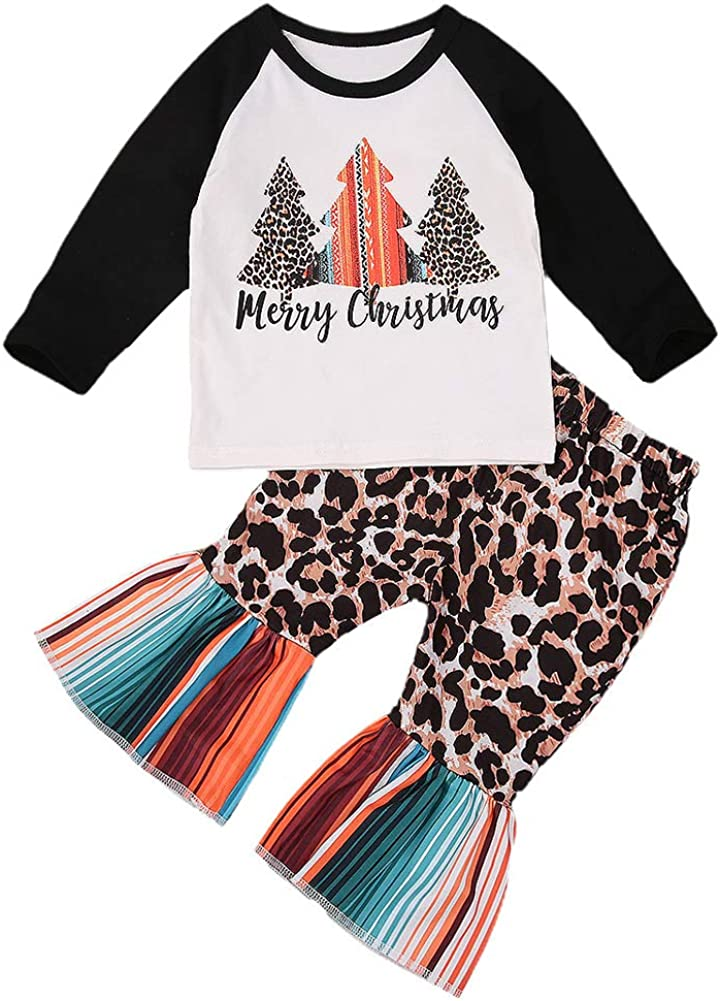 Christmas Toddler Kid Baby Girl Xmas Santa Party Tutu Dress Outfits Clothes US