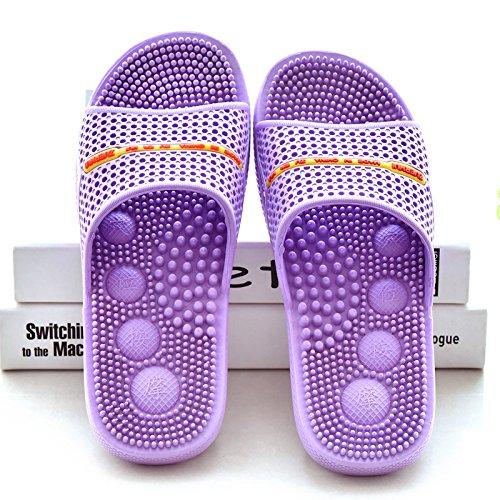 Home dérapante Home Chaussure Purple à Anti Semelle Massage 40 Sapphire Anti Semelle Chaussons Cosycorn dérapante De De 40 HONG Massage JIA à q0nz8wT8