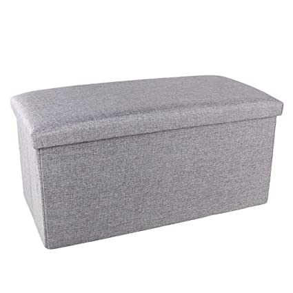 Superb Amazon Com Dppan Storage Ottoman Stool Bench Cloth Storage Ncnpc Chair Design For Home Ncnpcorg