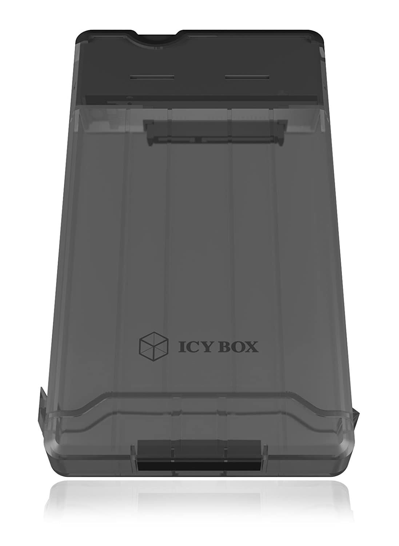 3.1 Gen 1 ICY BOX IB-235-U3 Carcasa de Disco Duro//SSD 2.5 Negro Disco Duro en Red , USB Type-A, Macho 2.5, SATA, 9.5 mm, 3.0