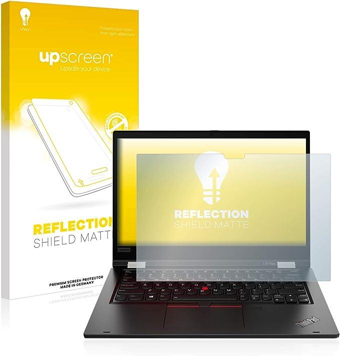 upscreen Entspiegelungs-Schutzfolie kompatibel mit Lenovo Yoga Slim 9i 14 Anti-Reflex Displayschutz-Folie Matt