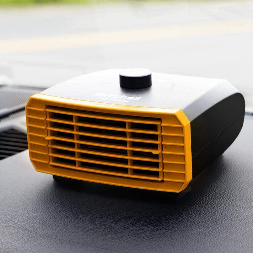 Elementral Calefactor Coche, 12v / 24v Calefacción Eléctrica Calefacción por Viento Calefacción De Automóviles Camioneta Camioneta Interior Handsome Decent