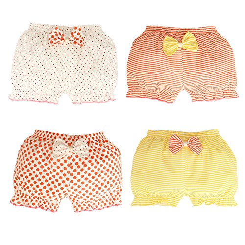 Multipack 2 Pack M/&Co Baby Girl 100/% Cotton Frilly Knickers Nappy Cover