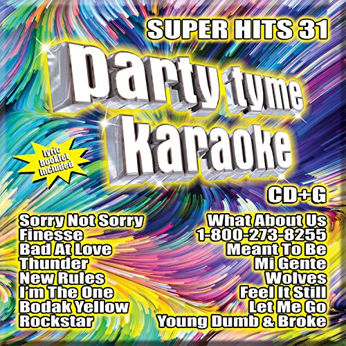 Music : Party Tyme Karaoke - Super Hits 31