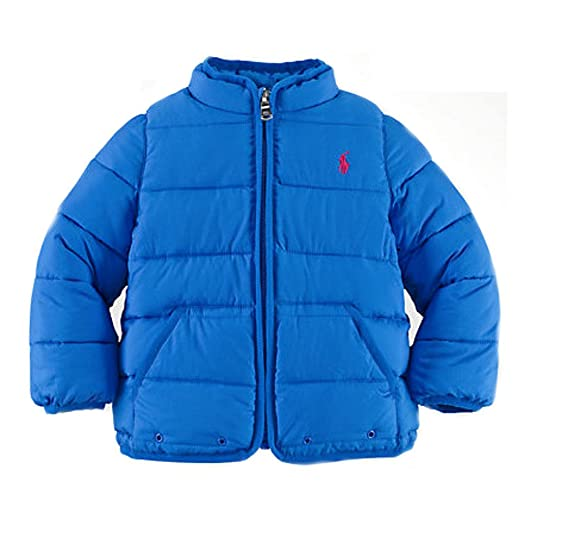Amazon.com: Ralph Lauren Baby Girls Quilted Jacket: Clothing