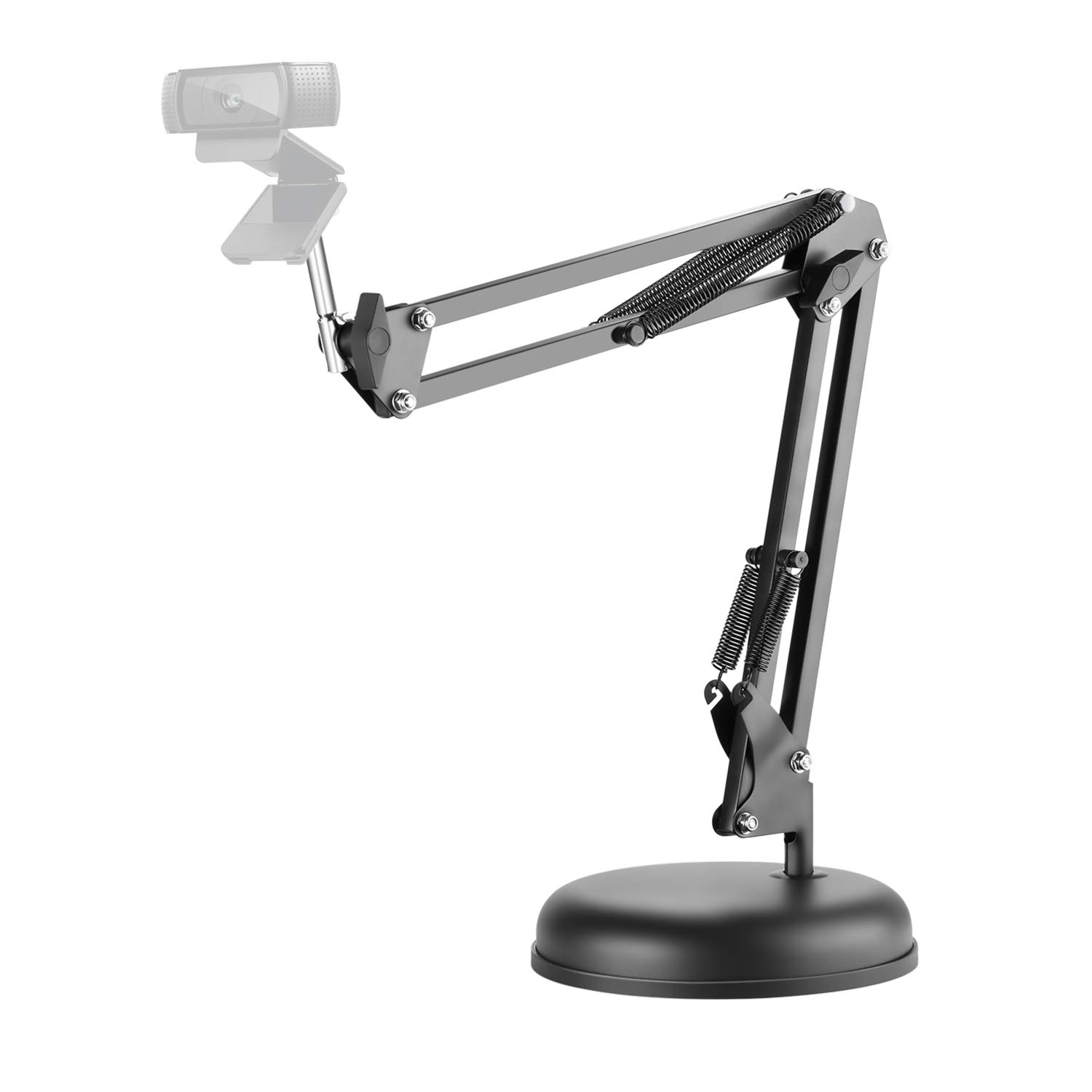 Neewer Adjustable Desktop Suspension Boom Scissor Arm Stand Holder with Base for Logitech Webcam C922 C930e C930 C920 C615