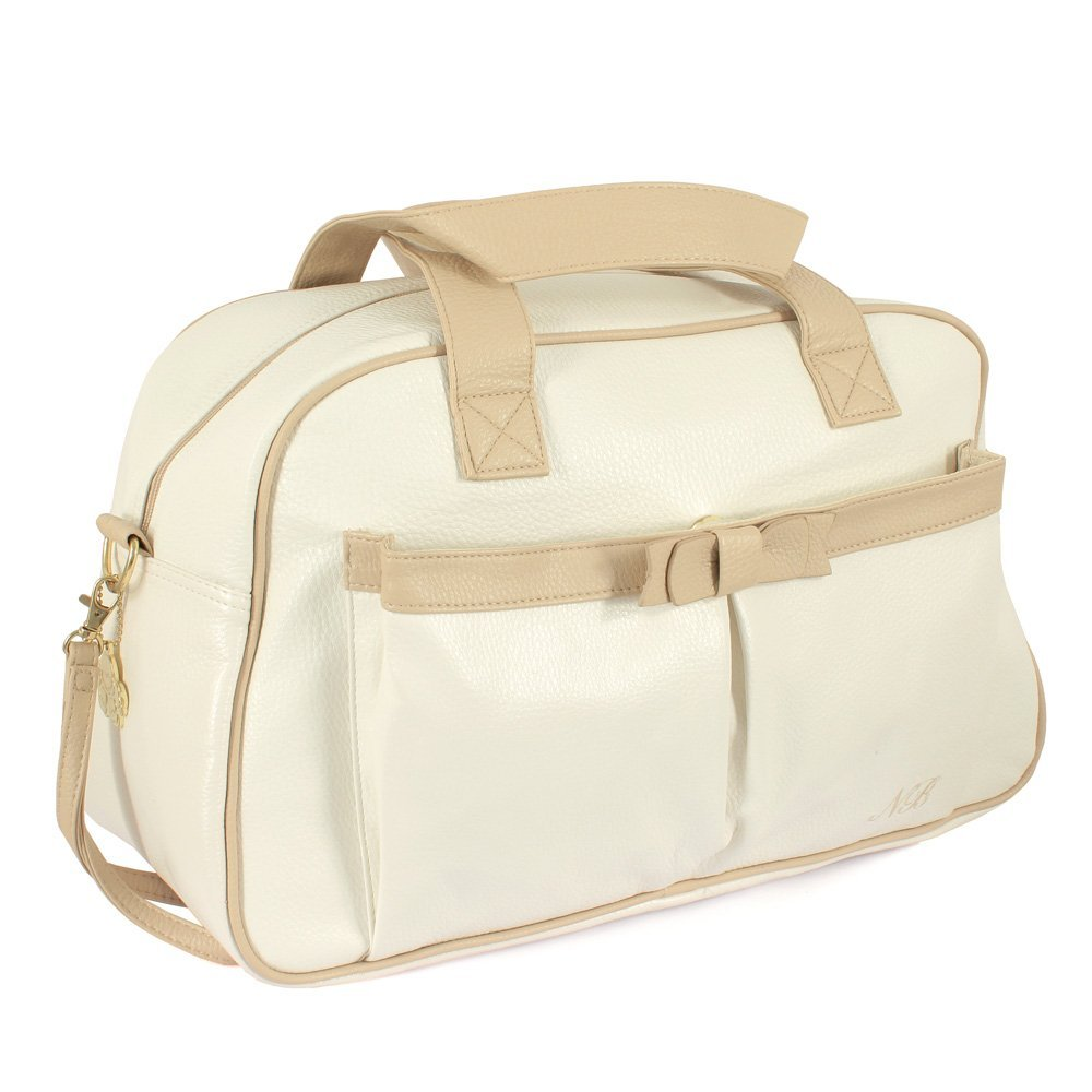 d43b025a100a Mayoral Baby (0-24 months) Contrast Trim Newborn Changing Bag Cream Baby  Girls One Size  Mayoral  Amazon.co.uk  Clothing