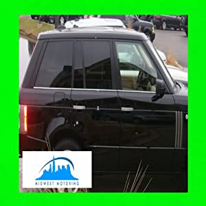 312 Motoring fits 2003-2011 Range Rover Chrome Lower Window Trim MOLDINGS 6PC 2004 2005 2006 2007 2008 2009 2010 03 04 05 06 07 08 09 10 11 Supercharged Sport