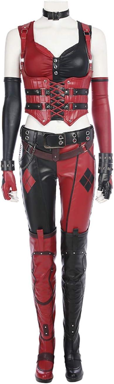 YUW Knight Harley Quinn Disfraz Disfraz Body Sling Chaleco ...