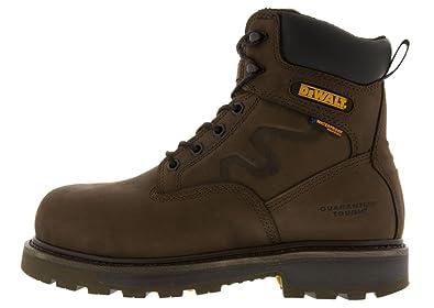 c8f793b3866 DEWALT Men's Tungsten Palm Crazy Horse Aluminum Safety Toe Work Boot  DXWP10012 Size: 12, Width: Wide