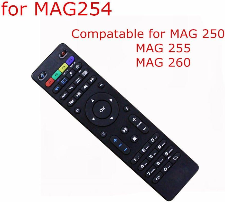 Mando a distancia para MAG 250, Mag 254 Mag 255, Mag 260, Mag 261, Mag 270, Mag 275, Mag 277, Mag 350, Mag 352, Mag 257 IPTV Set Top Box: Amazon.es: Electrónica