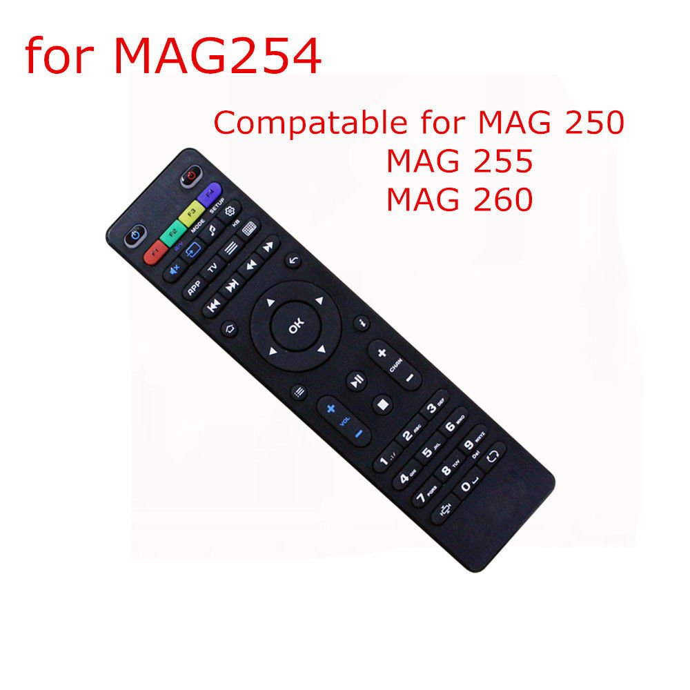 Ongekend Remote Control for MAG 250, MAG 254 MAG 255, MAG 260: Amazon.co.uk TZ-92