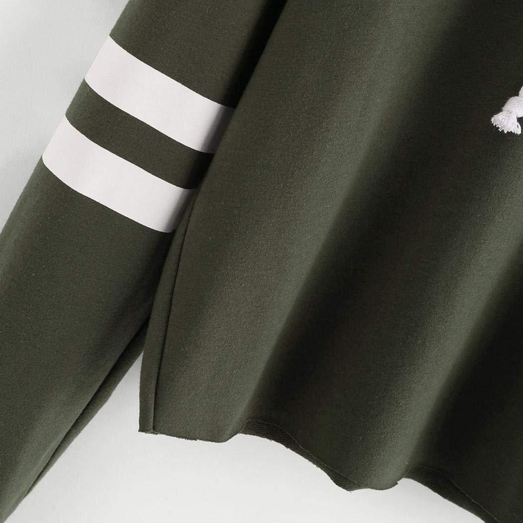 Hoodie Sweatshirt Women MITIY Casual Long Sleeve Letter Print Short Blouses Tops at Amazon Womens Clothing store: