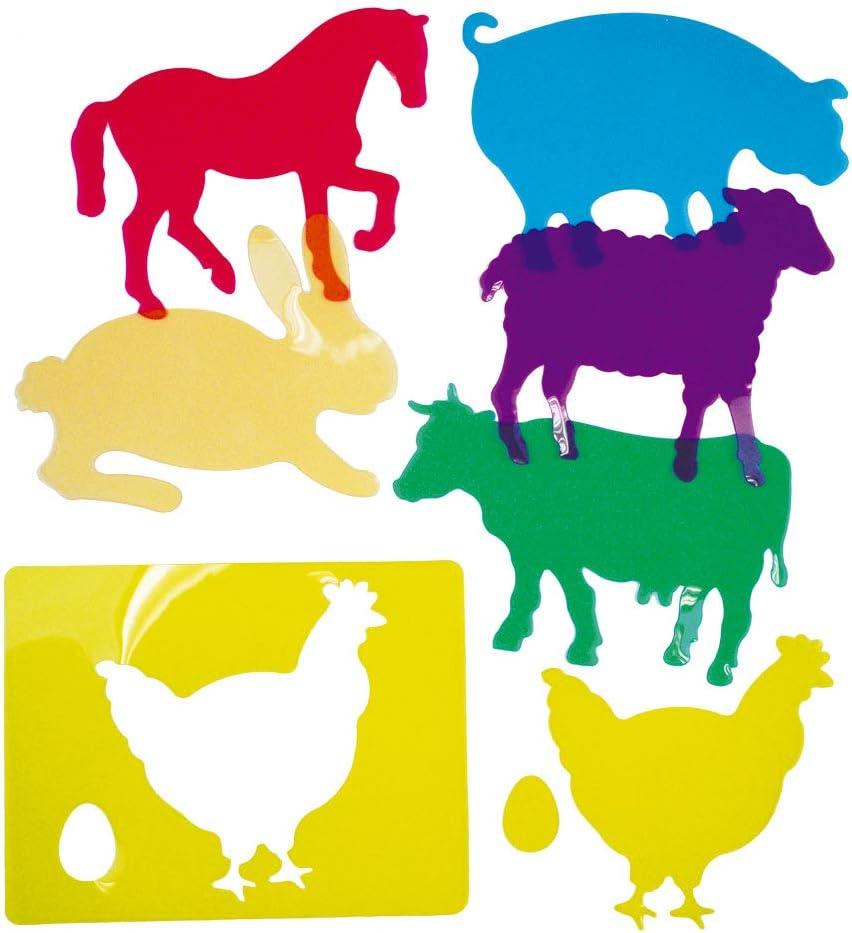 Henbea- Plantillas de Aprendizaje de Animales de Granja ...