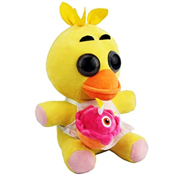New Arrival Fnaf Chica Plush Soft Toy Doll For Kids Gift-Nueva Llegada Fnaf Chica