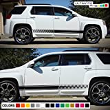 2x Decal Sticker Vinyl Side Racing Stripes Compatible with GMC Terrain 2010-2016 offers
