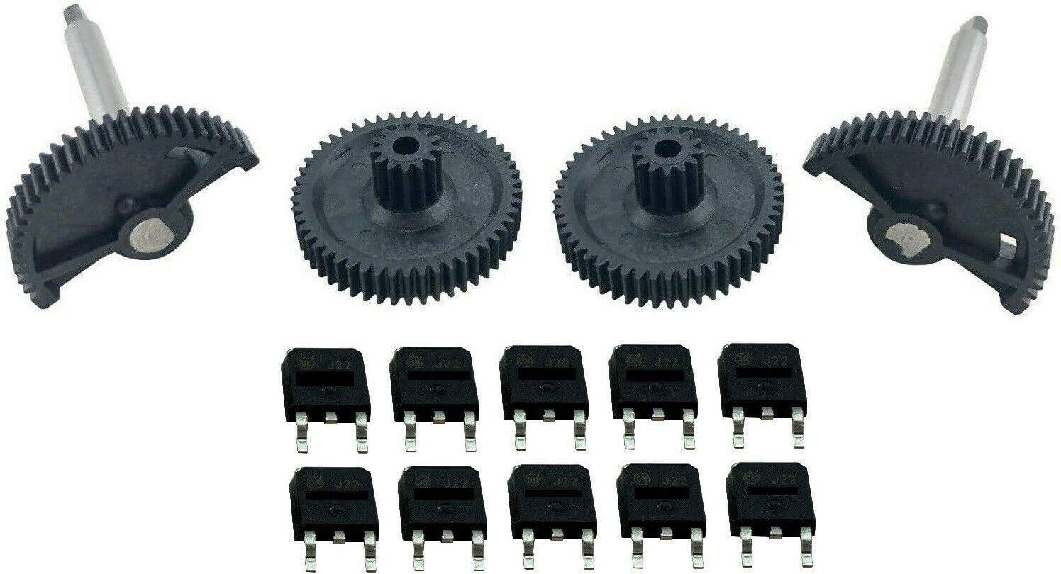 Throttle Actuator Gear Repair Kit Circuit Board Fix for 04-13 M3 M5 M6 S85 S65