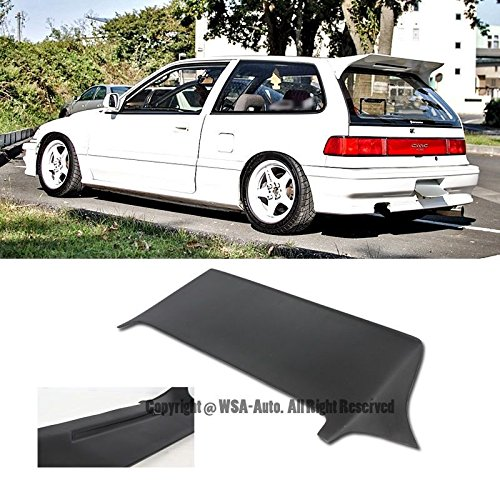 Extreme Online Store EOS Body Kit Rear Wing Spoiler - for Honda Civic EF9 3 Door Hatchback 88-91 1988 1989 1990 1991