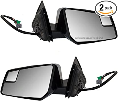 Mirror Power Heated Driver Passenger Side PAIR for Chevy GMC Saturn
