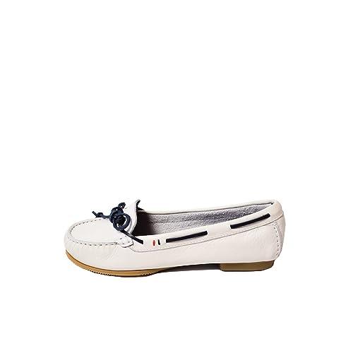Mocasines Tommy Hilfiger KELLY 10A blanco - Color - BLANCO, Talla - 38: Amazon.es: Zapatos y complementos