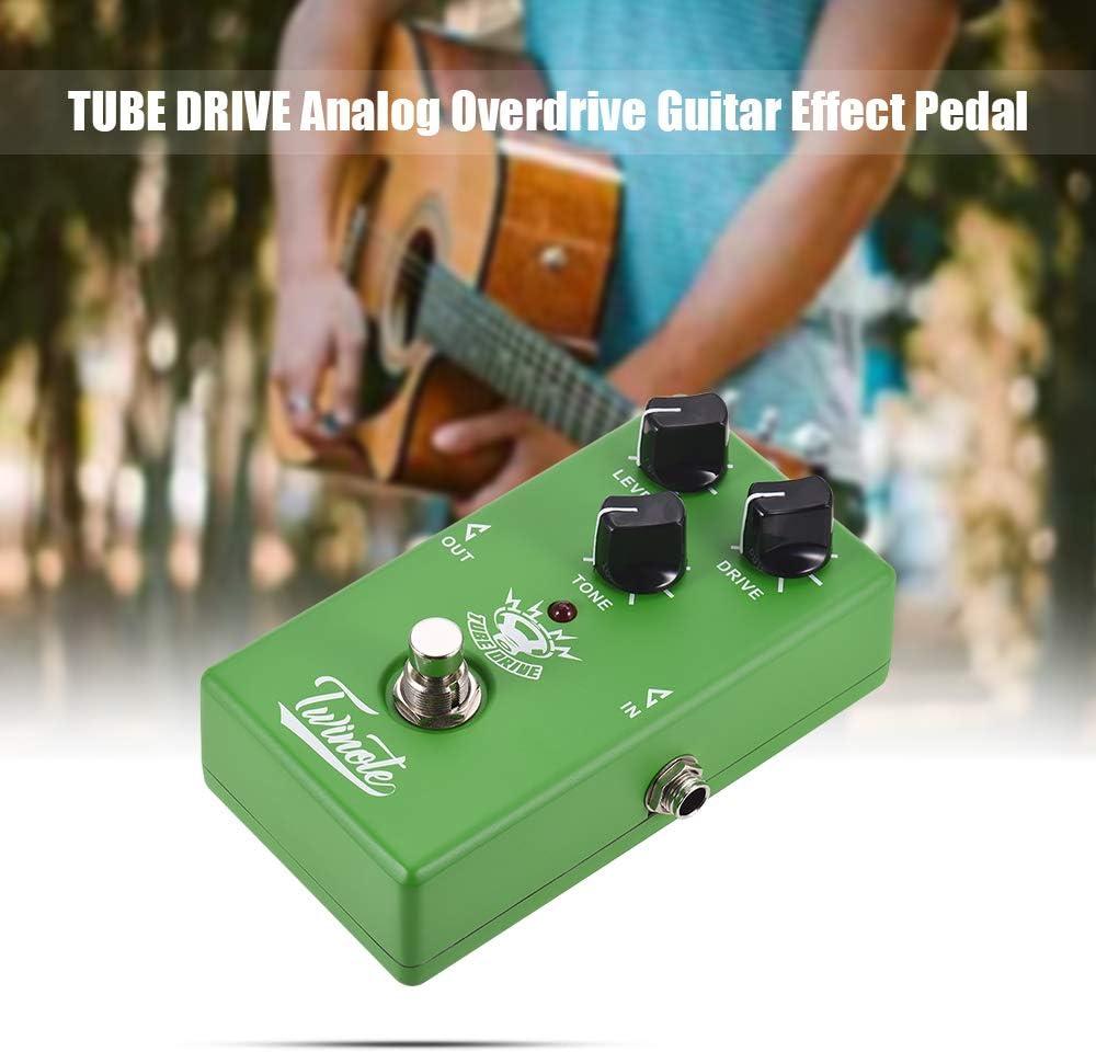 Muslady Twinote Pedal de Efectos de Guitarra Analógica Overdrive ...