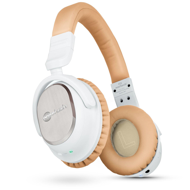 Auriculares Naztech i9 Inalambrico Cancelacion de Ruido Activa 4.1 Bluetooth con in-line Microfono Up to 30 hrs Duracion