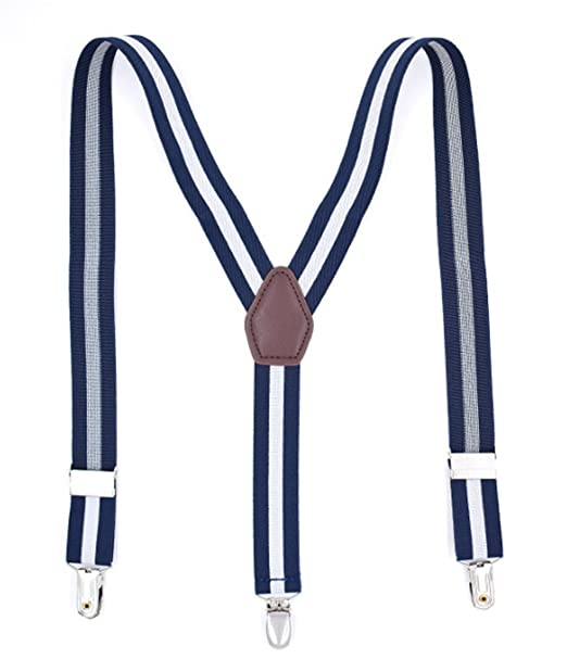 UMEE Tirantes Pantalones Elásticos Traje De Escena Ropa Para Hombre Mujer Unisex Longitud Ajustable tCzo1dWPX