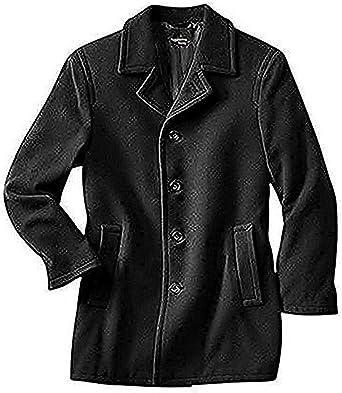 HEINE Leichte Herren Jacke Trenchcoat Style schwarz, Größe