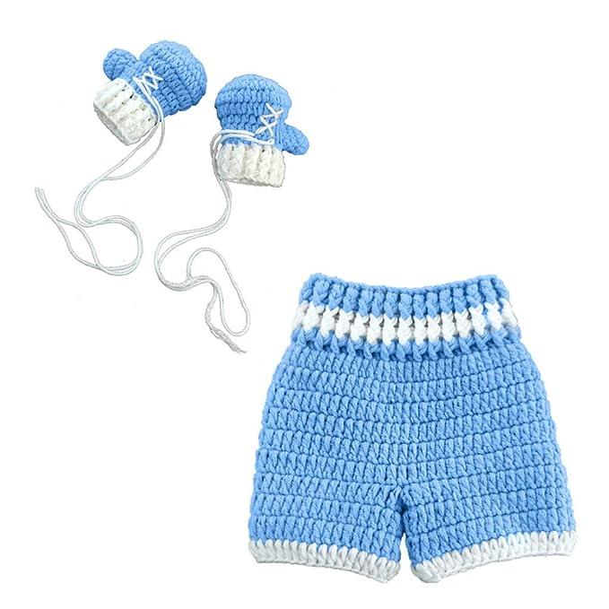 Haokaini fotografía recién nacida prop crochet bebé, regalo ...
