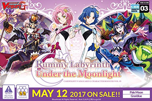 Cardfight Vanguard: Rummy Labyrinth Under the Moonlight Booster Box [VGE-G-CHB03] by Cardfight Vanguard