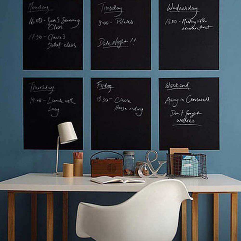 BLagenertJ 30x45cm Practical Blackboard Refrigerator Wall Home Memo Removable Chalkboard Sticker