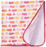 Magnificent Baby Hippo Friends Blanket, Pink, One Size