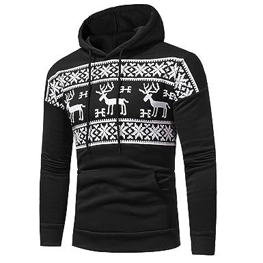 Outwear Renne Hiver Shirt Noël Noël Homme Jacquard Sweat Hoodie Overdose Pull Manteaux Imprimé q7nU4FS