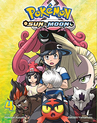 Pokémon: Sun & Moon, Vol. 4 (4) (Pokemon)