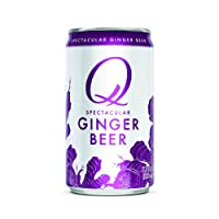 Q Mixers Ginger Beer, Premium Cocktail Mixer, 7.5 oz (24 Cans)
