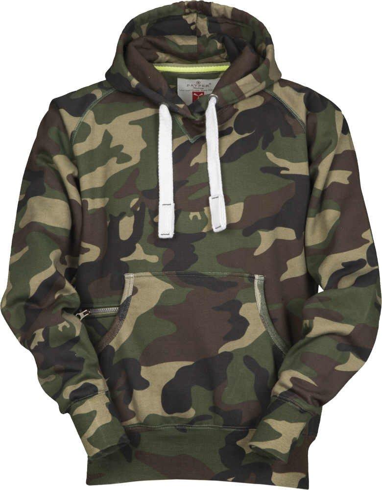 S.B.J - Sportland Camouflage Classic Army Style Kapuzensweater/Hoody / Sweatjacke/Pullover in Tarnfarbe
