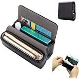 Gooder Case Cover for IQOS 3.0 DUO High PU Leather Carry Wallet with Cartridge Slot Magnetic Cover Compact Storage Box…