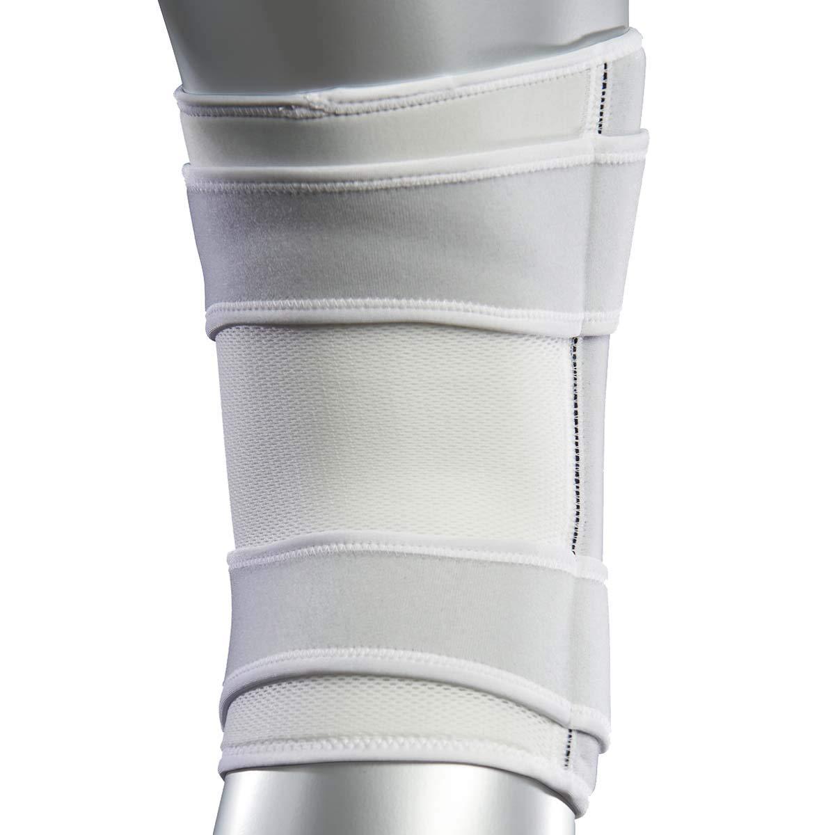 Zamst 471723 ZK-7 Knee Brace, White, Large by Zamst (Image #3)