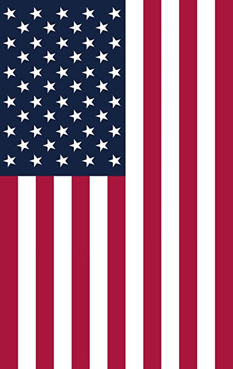 amazon com american flag canvas print vertical ready to hang made