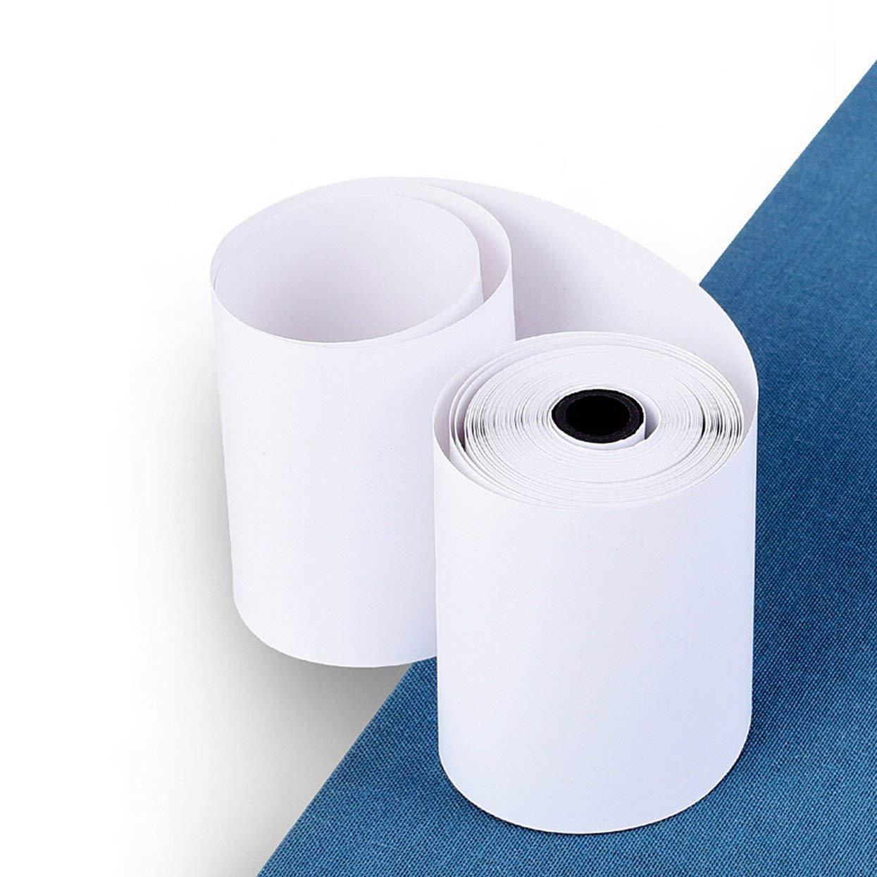 Tellaboull 3 Rotoli//Set 57X30MM Adesivo stampabile Durevole Carta Carta Termica Diretta autoadesiva per Stampante Pocket Bluetooth PAPERANG