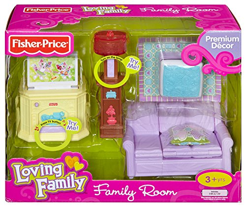Fisher Price Loving Family Family Room Buy Online In Uae Toy Products In The Uae See