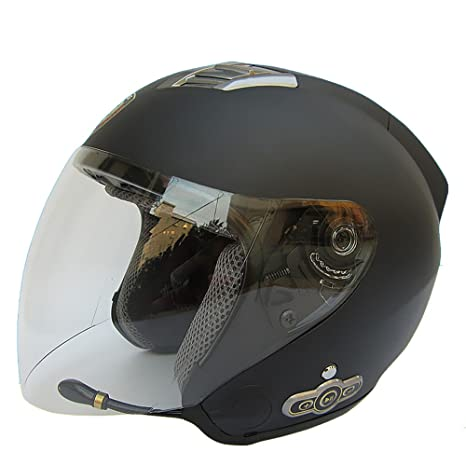 cf3ff48c00d89 Amazon.es  fatmingo integrado Bluetooth para moto casco semi ...