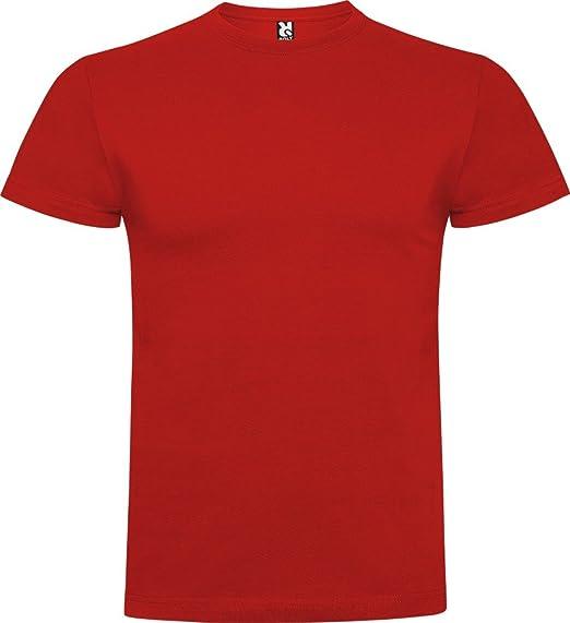 Camiseta de manga corta, confeccionada con tejido en galga fina y acabado compactado.: Amazon.es: Ropa y accesorios