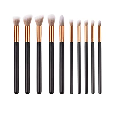 10pcs Pro Eye Makeup Brushes Set Eyebrow Eye Shadow Brush Cosmetic Tool